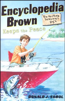Encyclopedia Brown Keeps the Peace (#6)