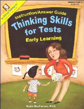 Thinking Skills for Tests Early Elementary Answer Guide