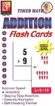 Timed Math Flash Cards - Addition