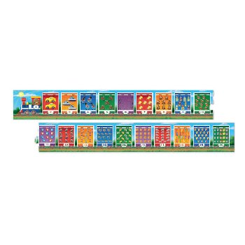Number Train Floor Puzzle (20 Pieces)