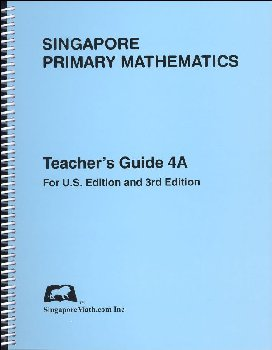 Primary Math US 4A Teacher Guide
