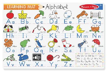 Alphabet Write a Mat
