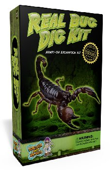 Real Bug Dig Kit (Excavation Kit)