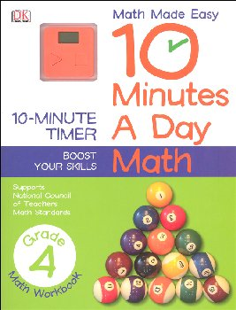 10 Minutes a Day: Math Fourth Grade