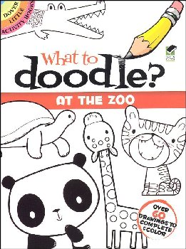 What to Doodle? At the Zoo Little Activity Book