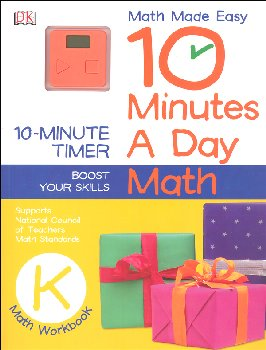 10 Minutes a Day: Math Kindergarten
