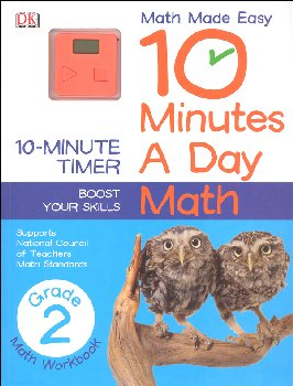 10 Minutes a Day: Math Second Grade
