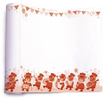 Create & Doodle Roll - Bear March