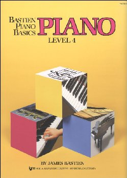 Bastien Piano Basics Method Level 4
