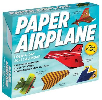 Paper Airplane Fold-A-Day 2020 Calendar