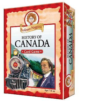 Prof Noggin's History of Canada Card Game
