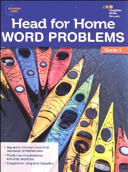 Head for Home: Word Problems Grade 5