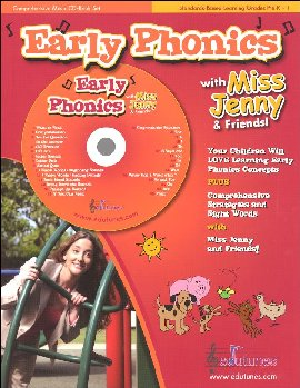 Early Phonics Book & CD