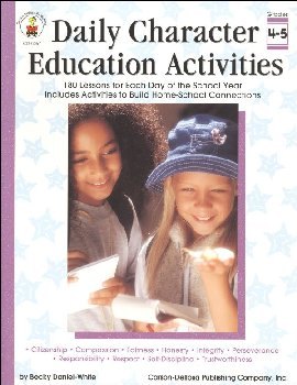 Daily Character Education Activities Grades 4-5
