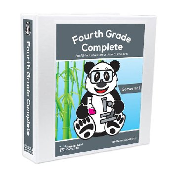 Fourth Grade Complete: Semester 1 - Additional Student Workbook