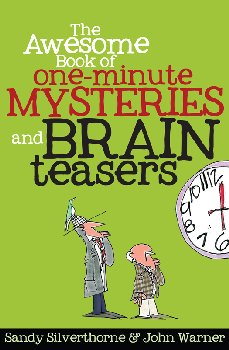Awesome Bk of 1-Minute Mysteries & Brain Tsrs