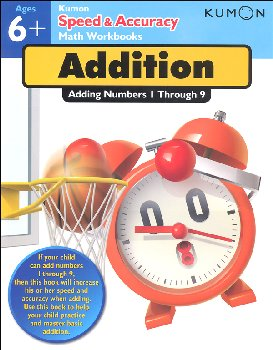 Kumon Speed & Accuracy Math Workbook - Addition