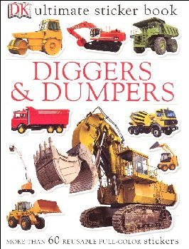 Ultimate Sticker Book: Diggers & Dumpers