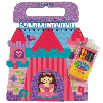 Princess/Castle Shaped Sketch Pad