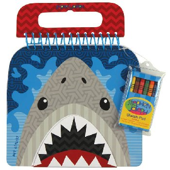 Shark Shaped Sketch Pad