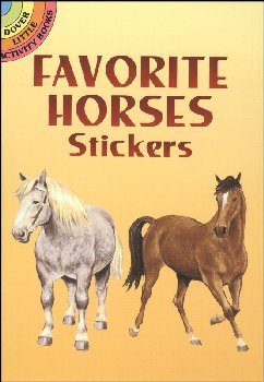 Favorite Horses Stickers