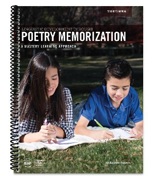 Linguistic Development through Poetry Memorization (Teacher's Manual Only)
