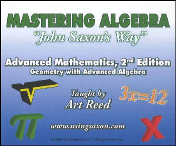 Mastering Algebra - Advanced Mathematics: Geometry with Advanced Algebra 2nd Edition DVD