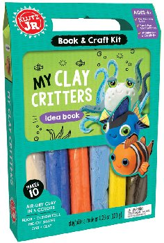 My Clay Critters Idea Book & Craft Kit