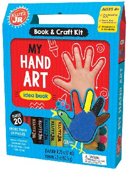 My Hand Art Idea Book & Craft Kit