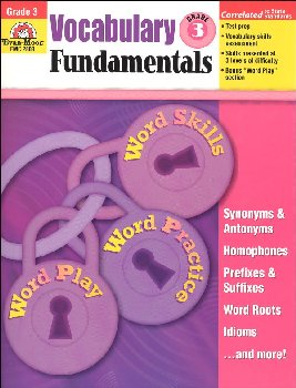 Vocabulary Fundamentals Grade 3