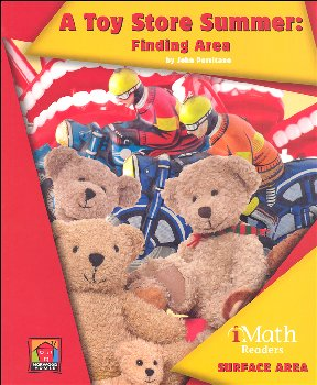 Toy Store Summer: Finding Area - Surface Area (iMath Reader Level B)