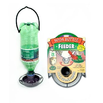 Soda Bottle Value Feeder - Black