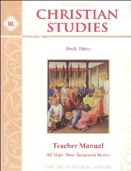Christian Studies Book 3 Teacher Manual Third Edition