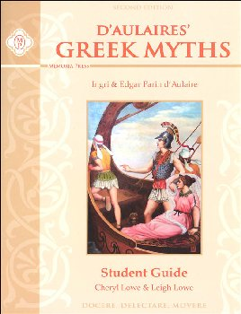 D'Aulaires Greek Myths Student Guide Second Edition