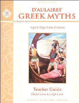 D'Aulaires Greek Myths Teacher Guide Second Edition