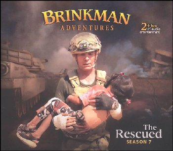 Brinkman Adventures Season 7 CDs - Rescued