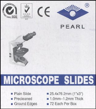 Microscope Slides, Plain