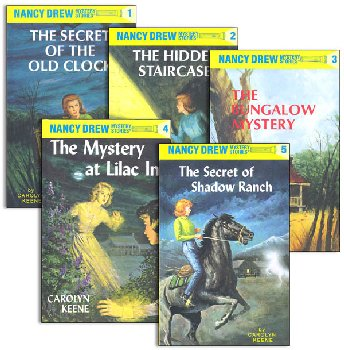Nancy Drew Starter Set #'s 1-5