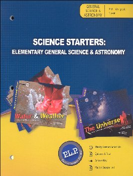 Science Starters: Elementary General Science & Astronomy Parent Lesson Planner