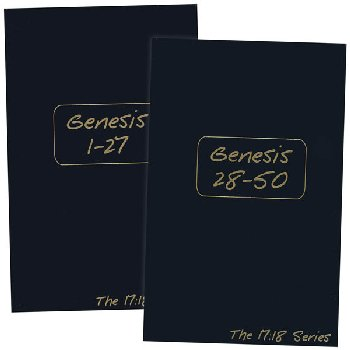 Genesis Journible: The 17:18 Series, 2 Volume Set