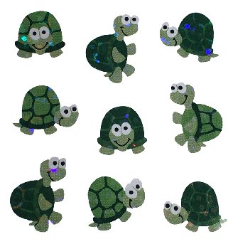 Turtles (Prismatic) Stickers