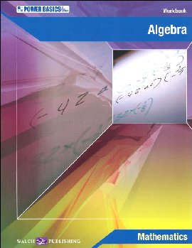 Algebra Student Wkbk & Ans Key (Power Basics)