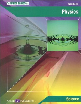 Physics Student Workbook & Ans Key (Power Bas