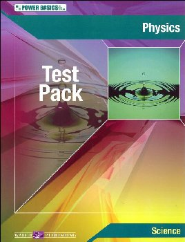 Physics Test Pack w/ Ans Key (Power Basics)