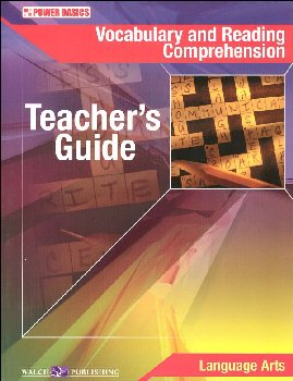 Vocabulary and Reading Comprehension Teacher Guide