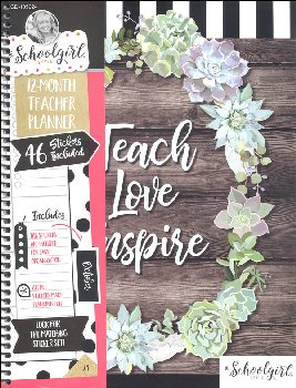 Simply Stylish Teach Love Inspire Teacher Planner