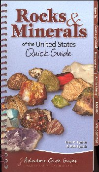 Rocks & Minerals of the United States Quick Guide