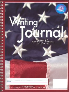 Writing Journal - Old Glory - Grades 3-4