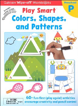 Play Smart Colors, Shapes and Patterns Workbook