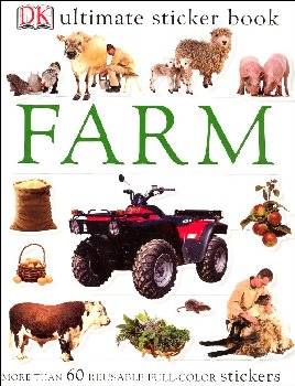 Ultimate Sticker Book: Farm